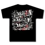 Strike Anywhere Barbed Wire Black T-Shirt