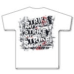 Strike Anywhere Barbed Wire White T-Shirt