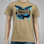 Strike Anywhere Dead FM Khaki T-Shirt