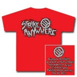 Strike Anywhere Thrasher Red T-Shirt