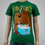 Structures Beaver Kelly Green T-Shirt