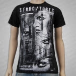 Structures Retina Black T-Shirt