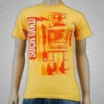 Such Gold Robot Yellow T-Shirt