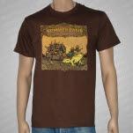 Summer Camp Music Festival Summer Camp 2010 Brown T-Shirt