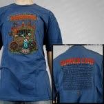 Summer Camp Music Festival Summer Camp 2011 Carnival Navy T-Shirt