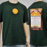 Summer Camp Music Festival Summer Camp 2005 Green T-Shirt