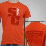 Summer Camp Music Festival Summer Camp 2012 Orange T-Shirt