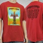 Summer Camp Music Festival Summer Camp 2013 Red T-Shirt