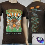 Summer Camp Music Festival Summer Camp Wear The Party Brown T-Shirt