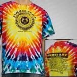 Summer Camp Music Festival Summer Camp Sun 2012 Tie Dye T-Shirt