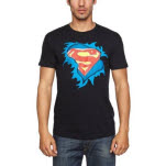 Superman Torn Logo T-Shirt