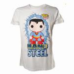 Superman Graphic Art White T-Shirt