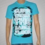 Surrender The Dance Floor Disco Aqua T-Shirt