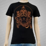 Surya Design Krishna Black T-Shirt
