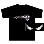 Syrentha Bird Black T-Shirt