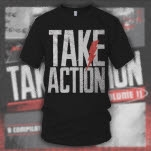 Take Action Take Action 2013 Black T-Shirt