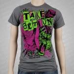 Take Action Fighter Flight Gray T-Shirt