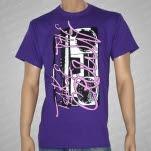 Take The Crown Boom Box Purple T-Shirt