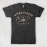 official TALLHART Buffalo Charcoal Grey T-Shirt