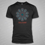 TALLHART Drops Dark Heather Grey T-Shirt