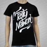 Tasty Network Logo Black T-Shirt