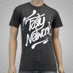 Tasty Network Logo Heather Grey T-Shirt