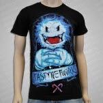 Tasty Network Sinister Full Color Black T-Shirt