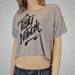 Tasty Network Tasty Network Heather Grey T-Shirt