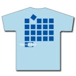 Team Sleep Blocks Light Blue T-Shirt
