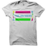 Televisor Logo White T-Shirt