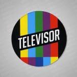 official Televisor MultiColor Logo Sticker