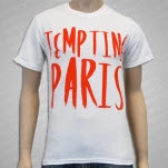 Tempting Paris Logo White T-Shirt