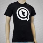 Teqq Logo Black T-Shirt