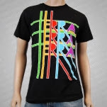 Terra Terra Terra Multi Color Logo Black T-Shirt