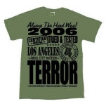 Terror Certified Olive Green T-Shirt