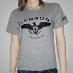 Terror Eagle Athletic Gray T-Shirt