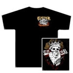 Terror Dead King Black T-Shirt
