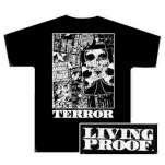 Terror Living Proof Black T-Shirt