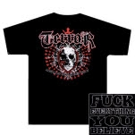 Terror Skull Saints Black T-Shirt