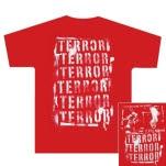 Terror Stencil Red T-Shirt