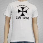 Terror Warzone On White T-Shirt