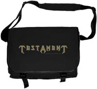 Testament Logo Messenger Bag