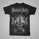 Texas In July One Reality Black T-Shirt