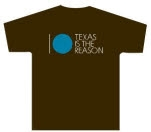 Texas Is The Reason Commemorative 10 Brown T-Shirt