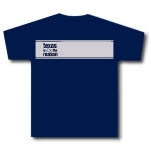 Texas Is The Reason Silver Stripe Navy T-Shirt