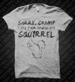 Texties Squirrel Heather T-Shirt