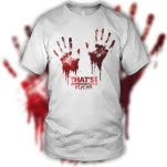 Thats Outrageous Psycho White T-Shirt