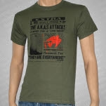 The AKAs Attack Green T-Shirt