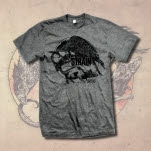 The Acacia Strain Crow And Mouse Heather Grey T-Shirt