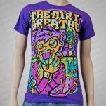 The Air I Breathe Poisoned Purple T-Shirt